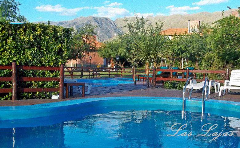 Complejo las lajas merlo san luis for Temperatura piscina climatizada